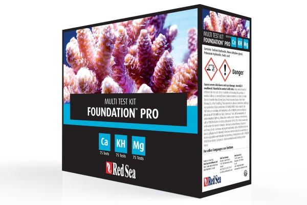 Red Sea Foundation Pro Testkit (Ca/KH/Mg)
