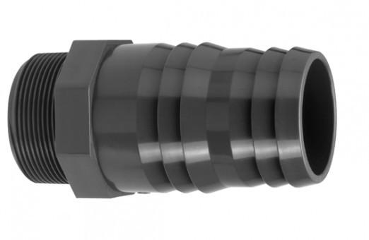 PVC Schlauchtülle (mit Außengewinde)